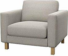 Soferia Bezug fur IKEA KARLSTAD Sessel, Stoff