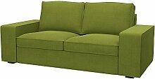 Soferia - Bezug fur IKEA KIVIK 2er-Sofa, Elegance
