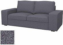 Soferia Bezug fur IKEA KIVIK 2er-Sofa, Stoff
