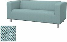 Soferia Bezug fur IKEA KLIPPAN 2er-Sofa, Stoff