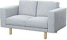 Soferia Bezug fur IKEA NORSBORG 2er-Sofa, Stoff
