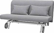 Soferia Bezug fur IKEA PS 2er-Bettsofa, Stoff