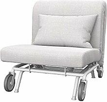 Soferia Bezug fur IKEA PS Sessel, Stoff Naturel