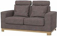 Soferia Bezug fur IKEA SALEN 2er-Sofa, Stoff Softi