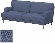 Soferia - Bezug fur IKEA STOCKSUND 3er-Sofa,