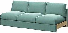 Soferia Bezug fur IKEA VIMLE 3er-Sofa, Stoff