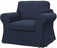 Soferia - IKEA EKTORP Sessel Bezug, Classic Purple