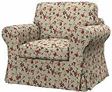 Soferia - IKEA EKTORP Sessel Bezug, Provence Red