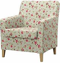 Soferia - IKEA KARLSTAD Sessel Bezug, altes Modell, Provence Pink