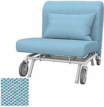 Soferia - IKEA PS Sessel Bezug, Nordic Blue