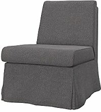 Soferia - IKEA SANDBY Sessel Bezug, Glam Grey