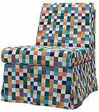 Soferia - IKEA SANDBY Sessel Bezug, Mozaik White