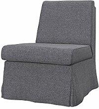 Soferia - IKEA SANDBY Sessel Bezug, Naturel Grey