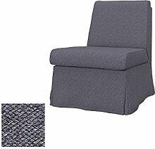 Soferia - IKEA SANDBY Sessel Bezug, Nordic Anthracite