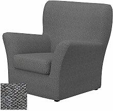 Soferia - IKEA TOMELILLA Sessel Bezug, Nordic Grey