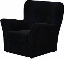 Soferia - IKEA TOMELILLA Sessel Bezug, Senses Black