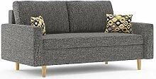 Sofini Sofa Etna! Best Sofa! 140 x 190/2- Sitzer