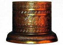 sofoc 8772739Chapiteau Fuß, Möbelgriff Messing Gold PU Rost, Doré - imitation rouille, 5,5 x 5,5 x 4,2 cm