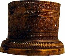 sofoc 8772759Chapiteau Fuß, Möbelgriff Messing Gold PU Rost, Doré - imitation rouille, 5,5 x 5,5 x 2,6 cm