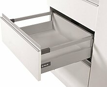 Soft Close Küche Schublade Läufer System L–350–Comfort Box by rejs rechteckig oberen Schiene H = 164mm weiß