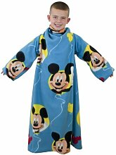 Soft-Fleece-Decke mit Ärmeln in Mickey Mouse Mickey Mouse Club House Disney