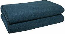 Soft-Fleece-Decke – Polarfleece-Decke mit