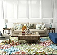 Soft Touch Shaggy Dick Bereich Teppiche Luxus Druck Schlafzimmer Wohnzimmer Teppich, 1, 40x60cm