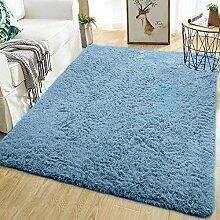 Softlife Weicher Zottelteppich für Schlafzimmer,