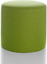 Softline Hocker Drum grün, Designer Softline