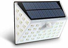 Sofunny Solarleuchten 53 LED Wandleuchte Außen