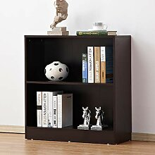 soges Bücherregal Mini Bücherschrank mit 2