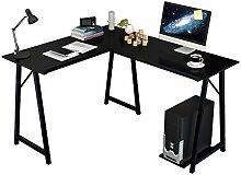 Soges Computertisch Schreibtisch Eckschreibtisch,