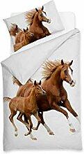 Sognamo Pferde  Horses - Bettwäsche - Baumwolle -