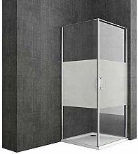 Sogood Eck-Duschkabine Ravenna56MS 90x90x195cm