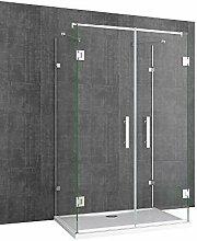 Sogood U-Form Duschkabine Ravenna40 80x120x195cm