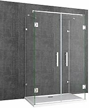 Sogood U-Form Duschkabine Ravenna40 80x90x195cm