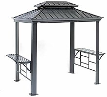 Sojag Messina Grillpavillon, grau, 179 x 292 x 262