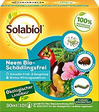 Solabiol Neem Bio-Schädlingsfrei, 30 ml