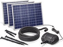 Solar Bachlaufpumpe 150W 5000l/h Solarpumpe