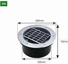 Solar-Bodenleuchte for Freien Garten,
