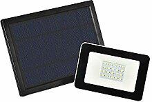 Solar Flood Light, Outdoor Remote Control LED