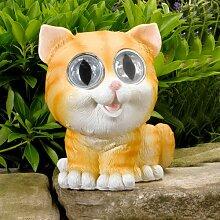 Solar Garden Lights – Bess & GERRY Bright Eye Katzen (Twin Pack)