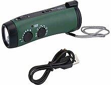 Solar - Hand - Notfall - Generator Bin/Fm - Radio,