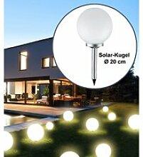 Solar-Kugel Ø 20cm LED