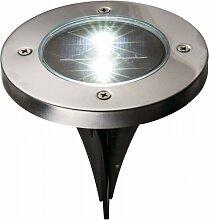 Solar LED Aufbaustrahler VENEDIG Bodenbeleuchtung