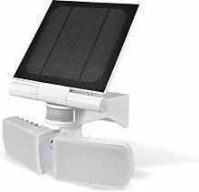 Solar-LED-Außenleuchte mit Bewegungsmelder- /