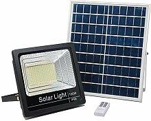 Solar-LED-Außenleuchte mit Fernbedienung 25 W,