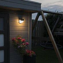Solar LED Außenleuchte Scout dunkelgrau