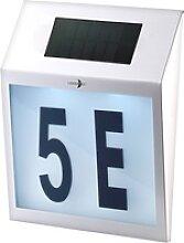 Solar-LED-Hausnummernleuchte mit