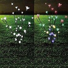 Solar LED Lichterbaum mit Farbwechsel Leuchtbaum
